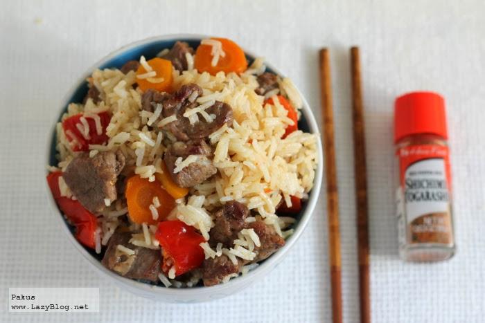 Lazy blog salteado de arroz thai con a ojo zanahorias y - Salteado de arroz ...