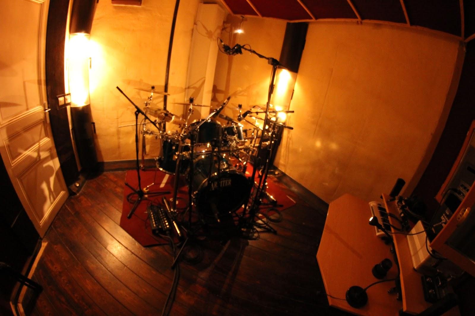 Enregistrement live de répétition au sein du studio d'enregistrement Medusa Prod à Marseille