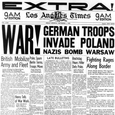 periodico-1939-alemania-invade-polonia