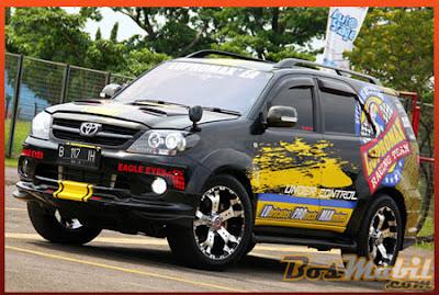 Modifikasi Toyota Fortuner