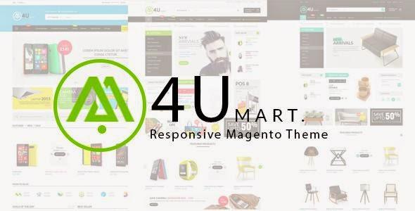 M4U – Multipurpose Responsive Magento Theme