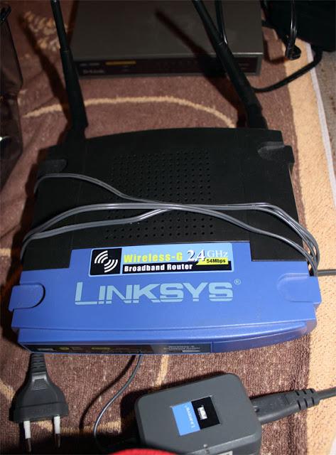 Linksys Router med trådlös koppling WIFI