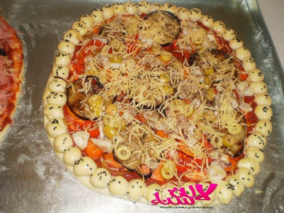 عجين بيتزا