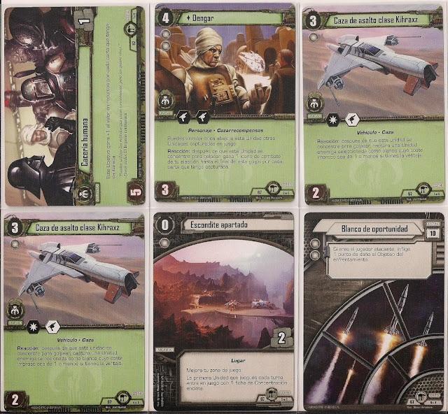 Expansión Star Wars LCG: Ciclo de Hoth - Huida de Hoth Cacería humana