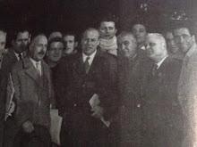 Il comandante della X Mas  Valerio Borchese al congresso deo MSI a Viareggio nel 54