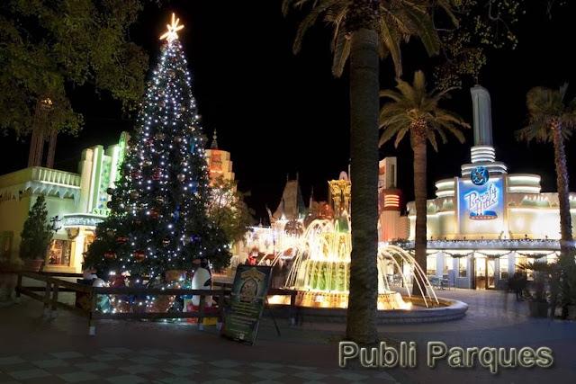 Navidad en el Parque Warner