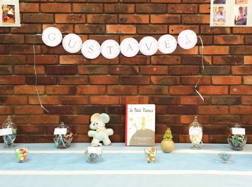decoration thème le petit prince