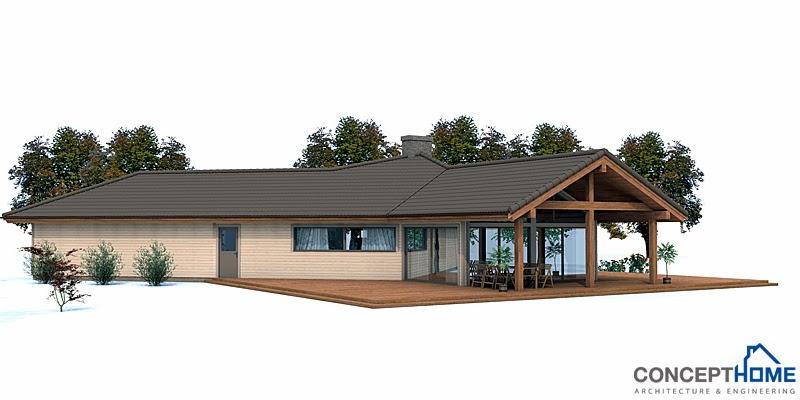 Proyectos de casas modernas proyecto de casa moderna ch134 for Casa moderna 8