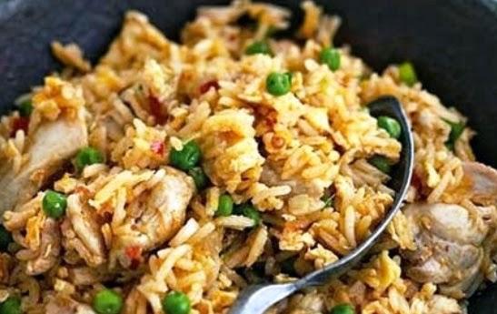 Resep Nasi Goreng Ayam Pedas