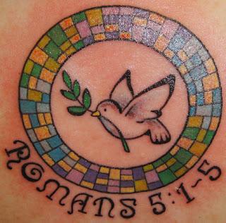 Holy Spirit Tattoos For Women The A-U-A Tattoo - Big...