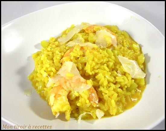 risotto crevettes