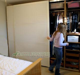 Cara Memperbaiki Lemari Pintu Sliding Geser Allia Furniture