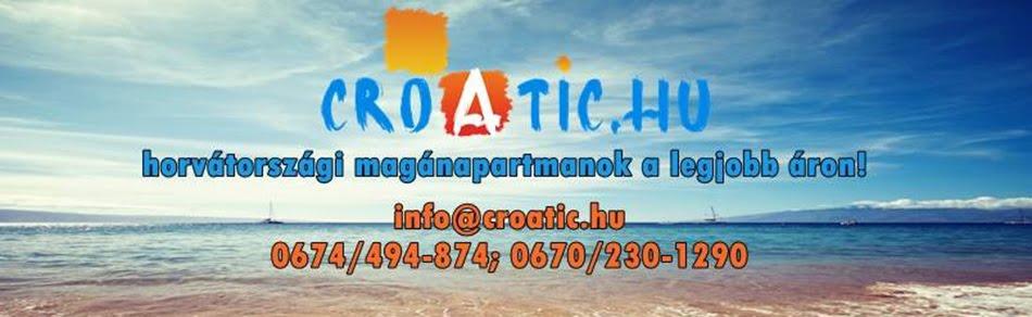 Croatia - Horvátország - Nyaralás - Apartmanok