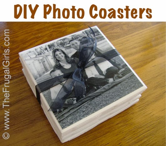 how to put pictures on coasters