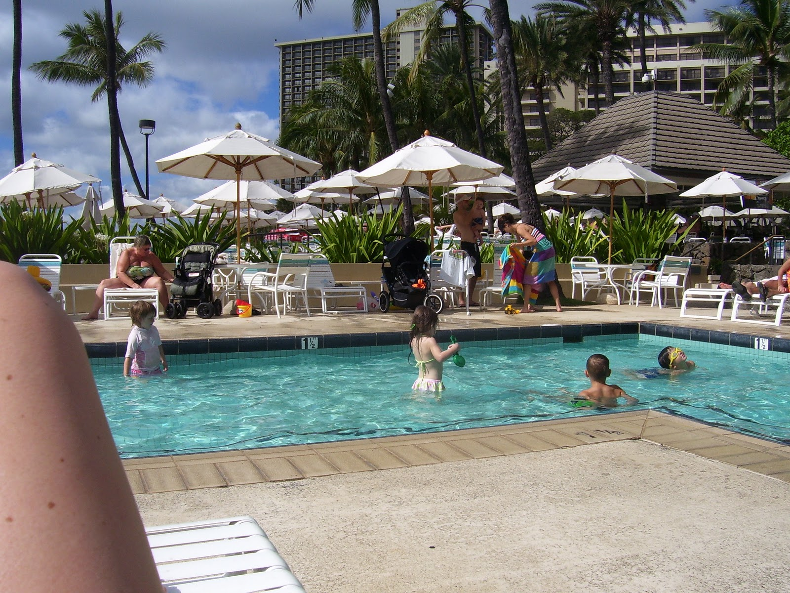 Hale Koa military resort on Waikiki Beach Honolulu Hawaii