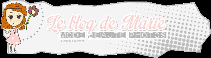 Le blog de Marie