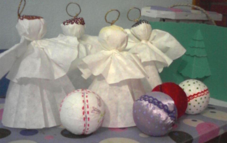 Mis creaciones preparando adornos para el arbol de navidad - Adornos de navidad para el arbol ...