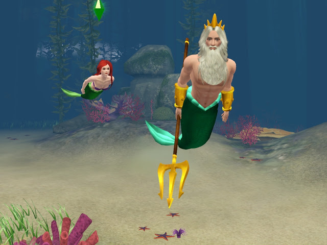 My Sims 3 Blog Little Mermaid Tails Updated For Island
