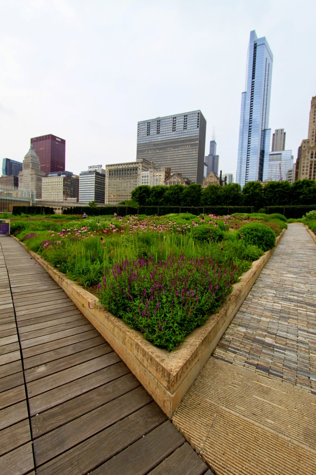 Lurie Garden, Chicago