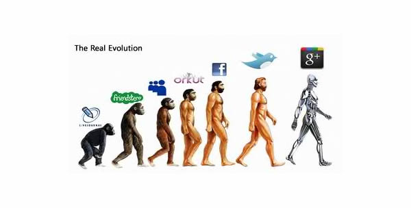Google Plus Funny Images: The Real Evolution