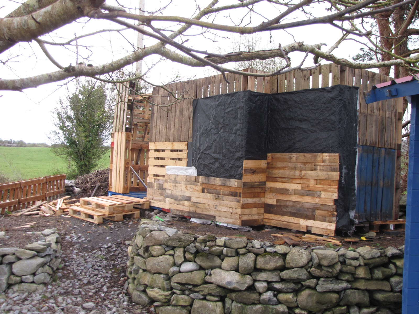 Art By Ollie Longuet My Pallet Shed