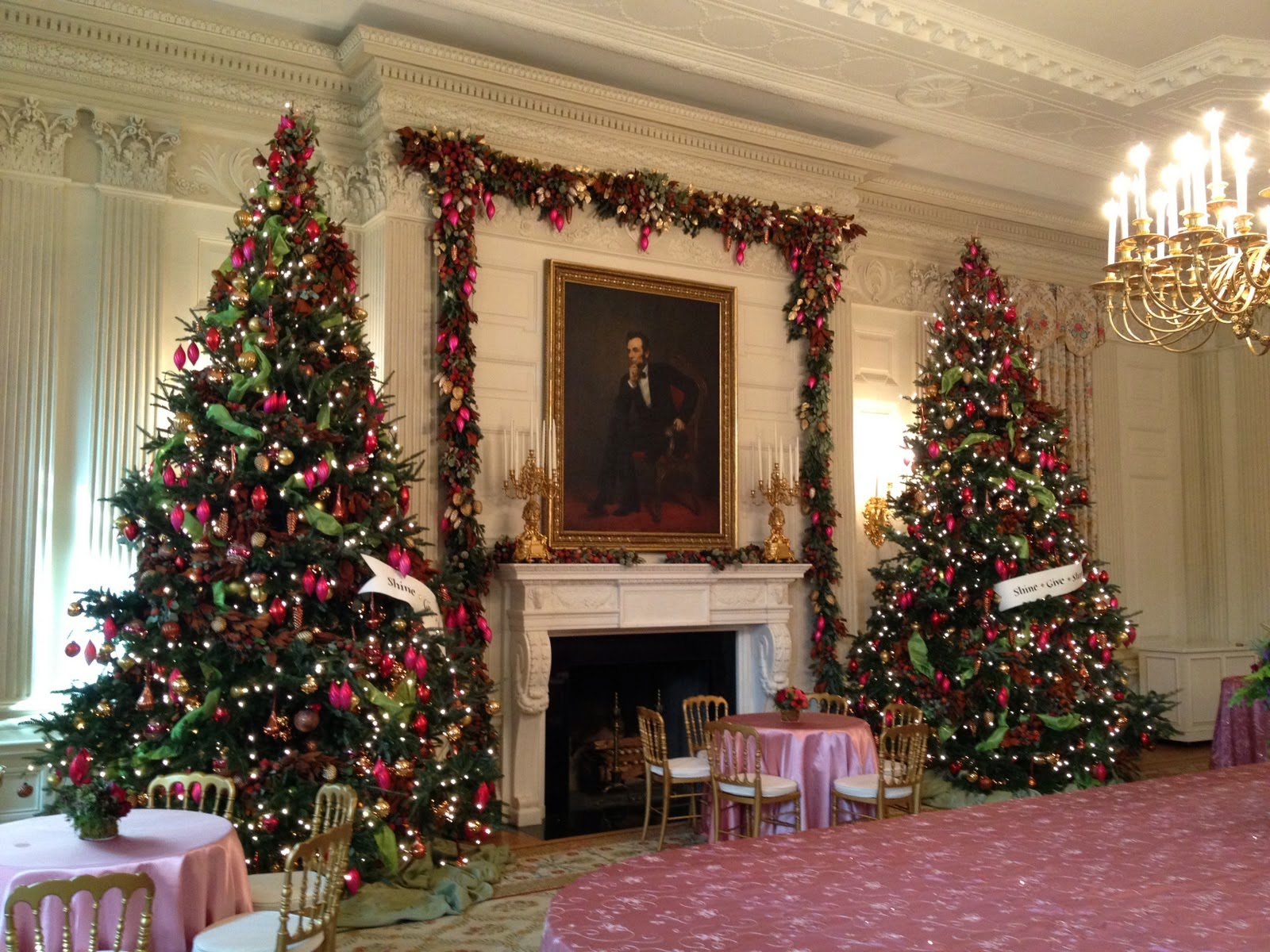 Interior Christmas Decorations best homes garden: elegant christmas decorations