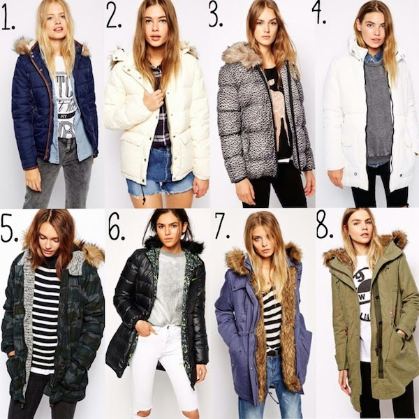 выбор зимнего пальто