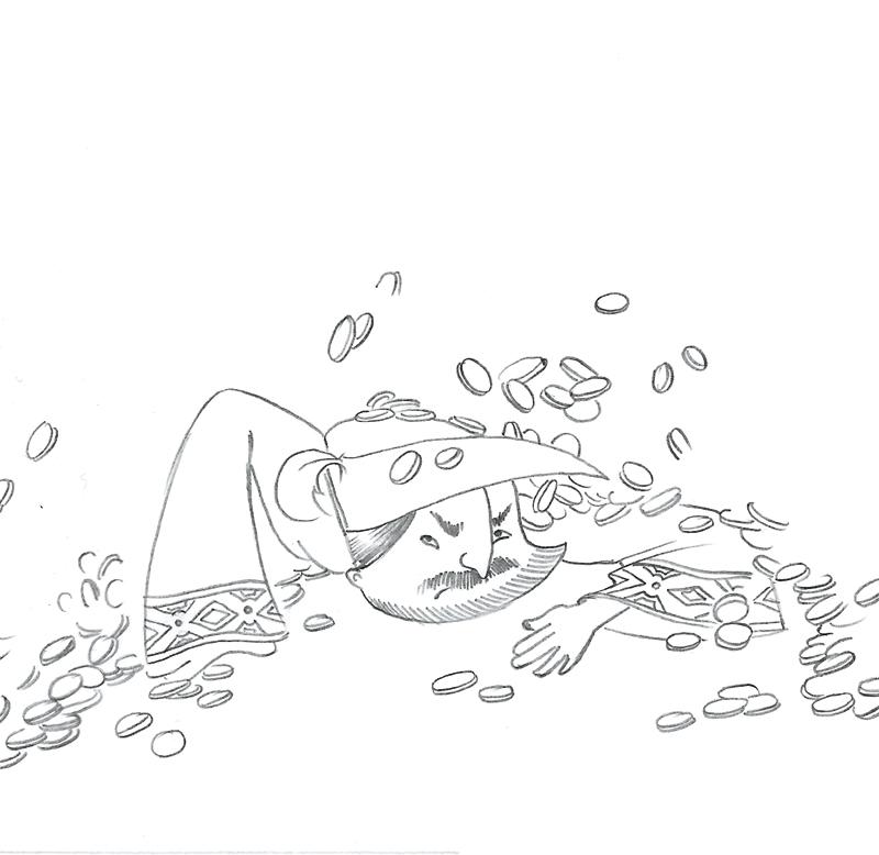Sel illustratrice freelance le petit prince cuisinier for Cuisinier sel