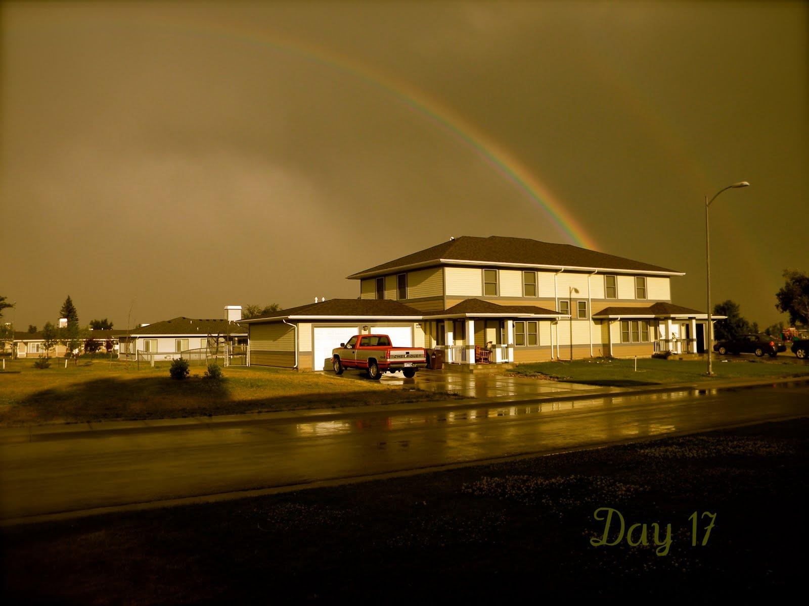 Day17 Verwunderlich so where Over the Rainbow Dekorationen