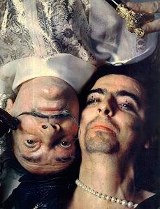 Salvador Dalí e Alice Cooper