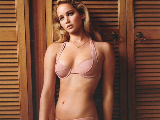 Hot Celebrity Jennifer Lawrence