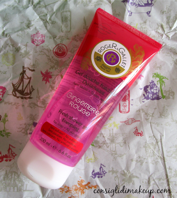 Review: Gel Douche fraicheur Gingembre Rouge - Roger&Gallet