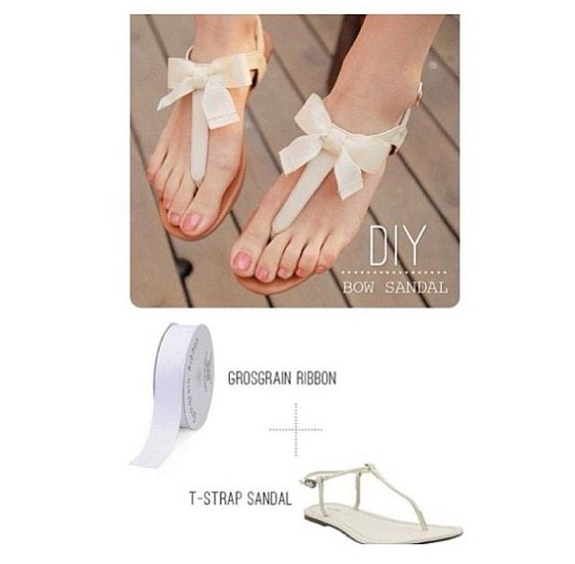 añadir lazo sandalias basicas