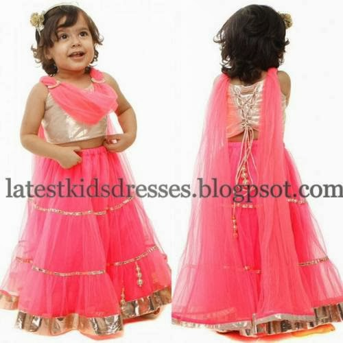 Cute Baby in Light Pink Skirt