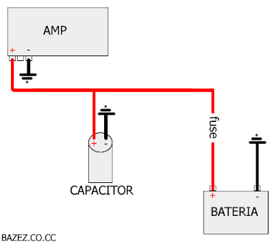 2012 11 01 archive as well Kenwood Radio Wiring Diagram in addition lifier Wiring Diagram Home likewise Que Es Un Capacitor Y  o Lo Conecto also Wiring Diagram For Power Acoustik. on subwoofer capacitor