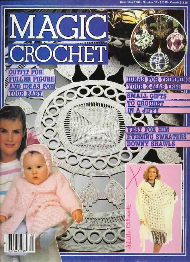 Magic Crochet : Magic Crochet No. 33 ~ Free Crochet Patterns