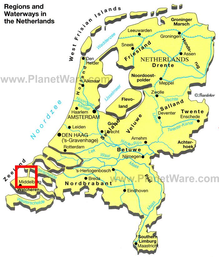 Netherlands Bikeways Zeeland Revisited Day 4