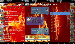 BBM Mod Apk VFire Plus Theme 2.8.0.21 + New Icon