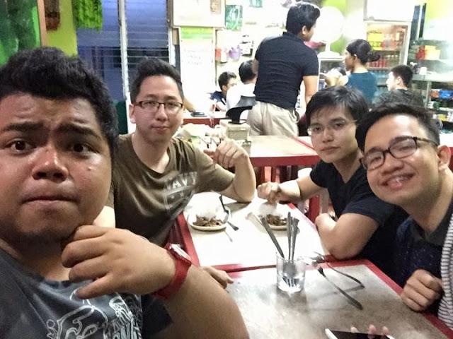 Fitz Balba, Renz Cheng, Myles Sia and Emil Ong