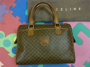 Celine Paris Monogram Tote Bag(SOLD)