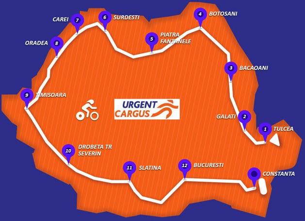 Pedale cu #UrgentCargus prin Oltenia