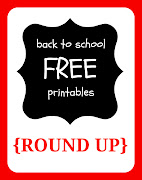 ready for school? (back to school free printables round up)
