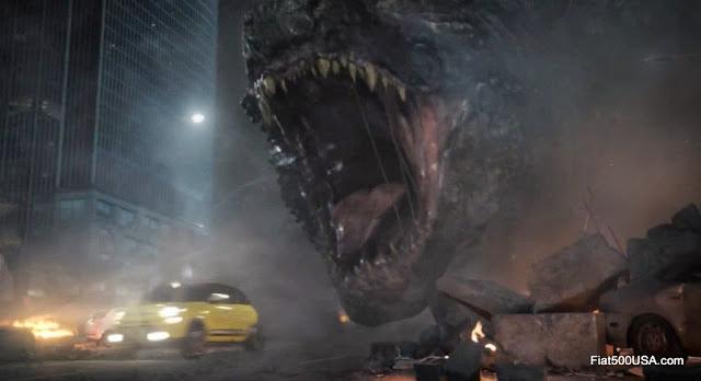 Godzilla versus Fiat 500L