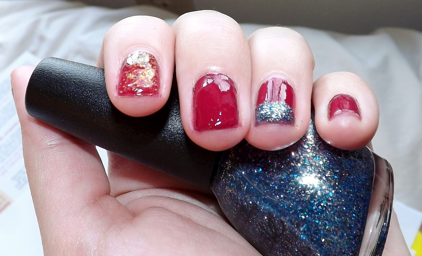 how to fix chipped nail polish