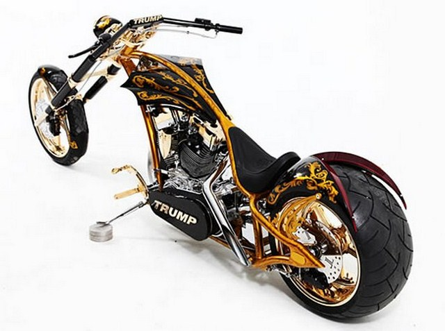 Paul Sr Designs Awesome Gold Chopper For Donald Trump Byffer
