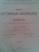 carti+geografie+carti+istorie+Cărţi+călătorii+George+Ioan+Lahovary+Marele+Dicţionar+Geografic+al+României