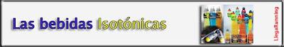 bebidas isotónicas propiedades