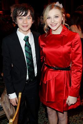 Asa Butterfield And Chloe Moretz