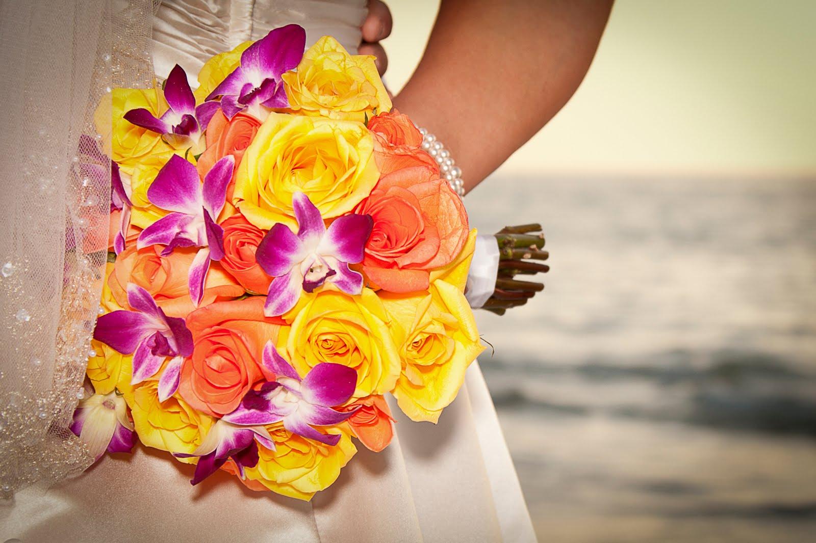 Florida Beach Wedding Flowers