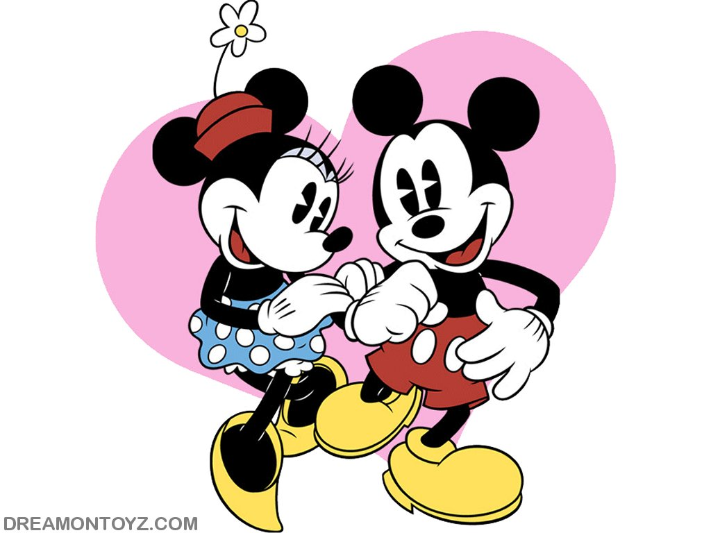 Minnie Mouse And Mickey Mouse Kissing >> Funny Picture Clip: Very Cool Cartoon Wallpaper – Mickey Mouse Wallpaper
